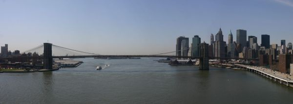 Brooklyn Bridge From Manhattan Bridge